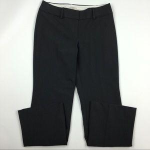LOFT dark gray Julie fit pants Sz 4 Petite